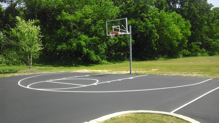 J pip 39 s paving company residential services j pips for Residential basketball court cost